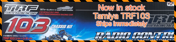Now in stock the Tamiya TRF103