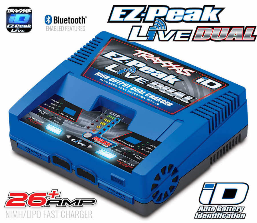 Dual iD Charger Completer Pack Power Cell 8S 14.8V LiPo Battery Traxxas 2997