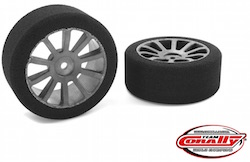 Corally 1/10 Foam GP Tyres