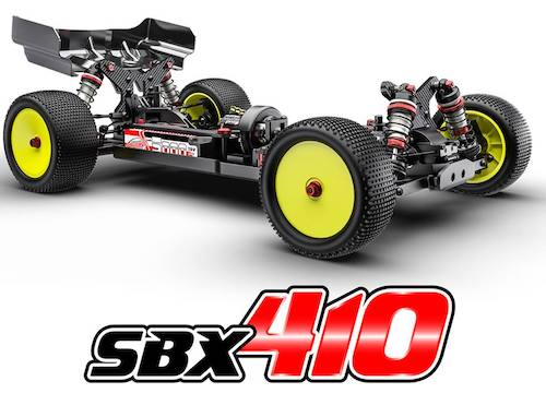 Corally SBX-410 Parts