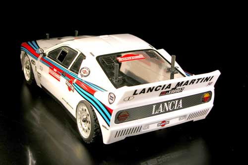 Rally Legends Lancia 037 Clear Body Accessories