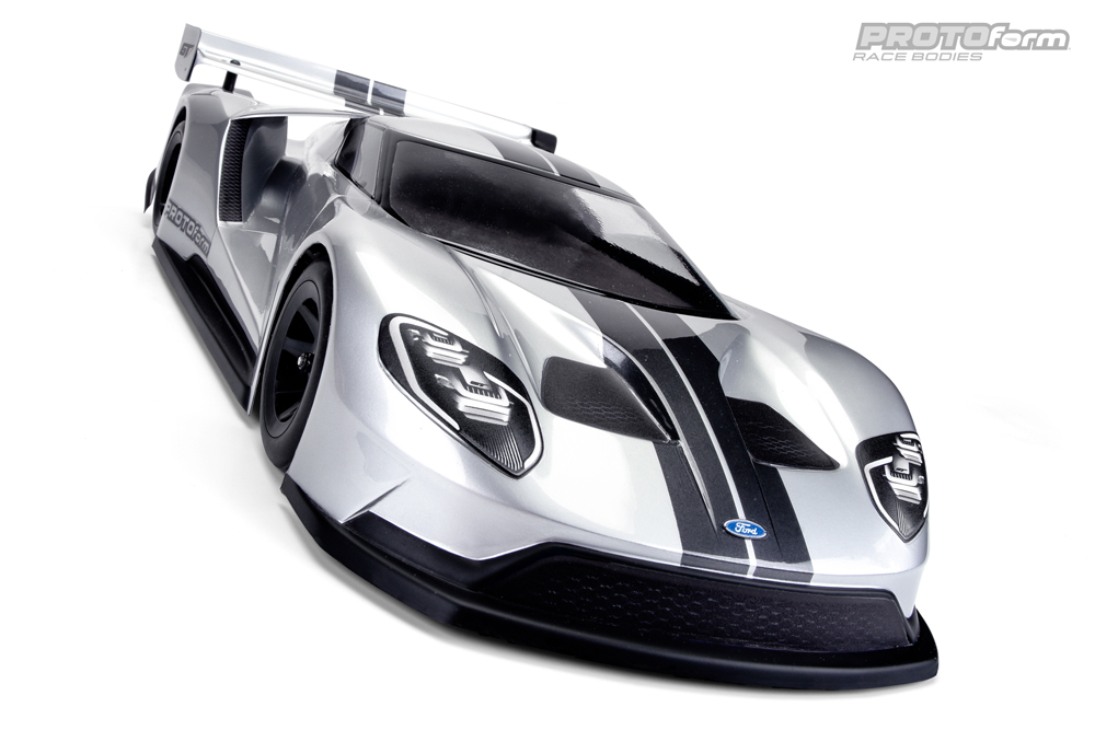 Proline Ford Gt Clear Body For Mm Pan Car Pr
