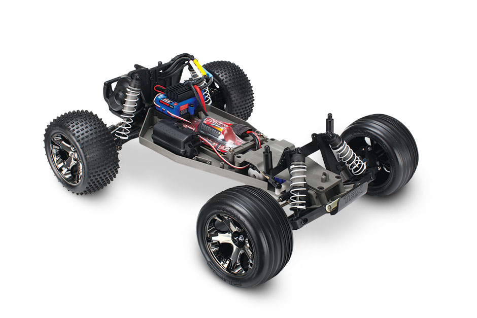 37076 1 rustler chassis 3qtr with iD traxxas rustler vxl brushless w tsm 2 4ghz (incl 8 4v battery and RC Wiring Diagrams at alyssarenee.co