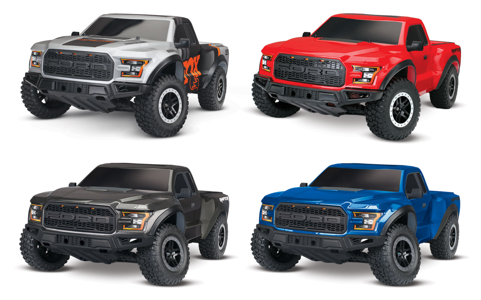 traxxas body ford raptor 2018 fox painted decals. Black Bedroom Furniture Sets. Home Design Ideas