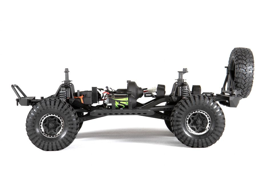 Axial Jeep Wrangler Rubicon : Axial scx jeep wrangler unlimited rubicon wd rtr