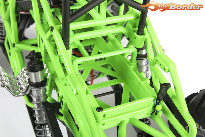 Axial SMT10 Grave Digger Monster Jam Truck 4WD 1/10 RTR ...