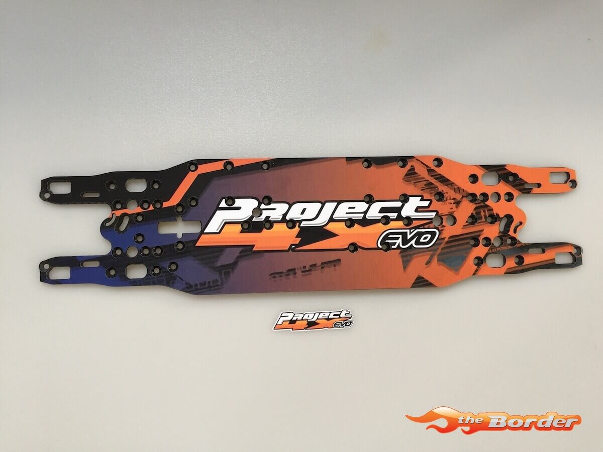 BRP Serpent 4X Evo Carbon Chassis Protector - with screwholes BRPD1462