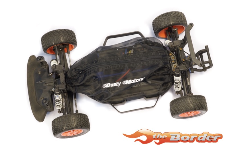 Dusty Motors Dust Protection Cover for Traxxas Slash 2WD (LCG Chassis) -  Black DMC0091