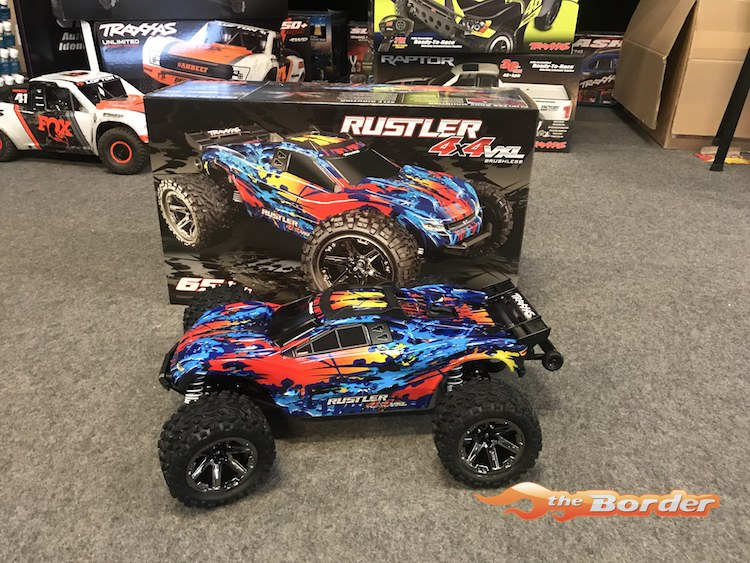 Traxxas Rustler 4x4 VXL RTR (No Battery/Charger) 67076-4