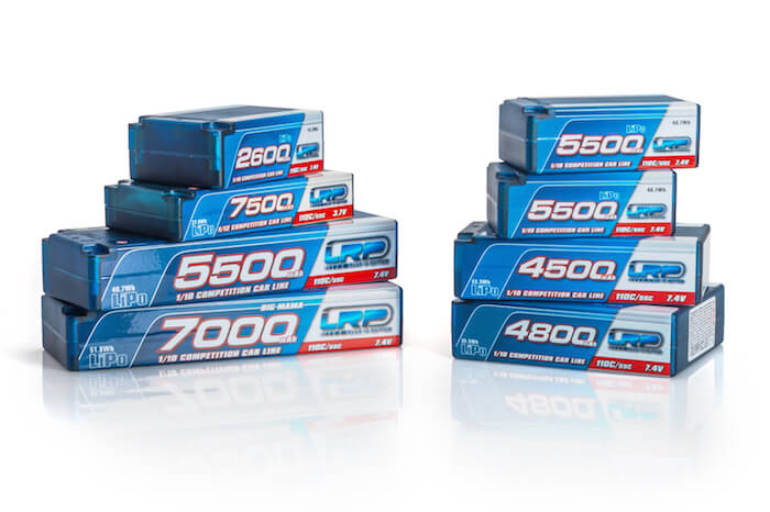 LRP 2600mAh Super Shorty 110C/55C 7.4V LiPo 430218