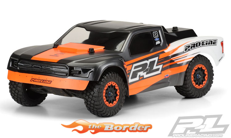 Proline 2017 Ford F 150 Raptor Desert Truck Clear Body For Slash 3489 00