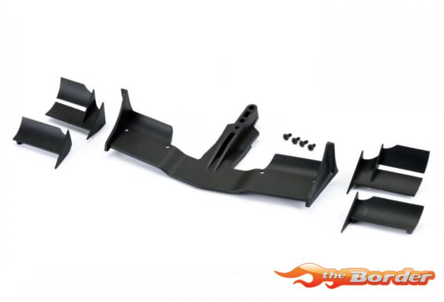 ProtoForm V2 F1 Front Wing (Black) for 1:10 Formula 1 1729-03