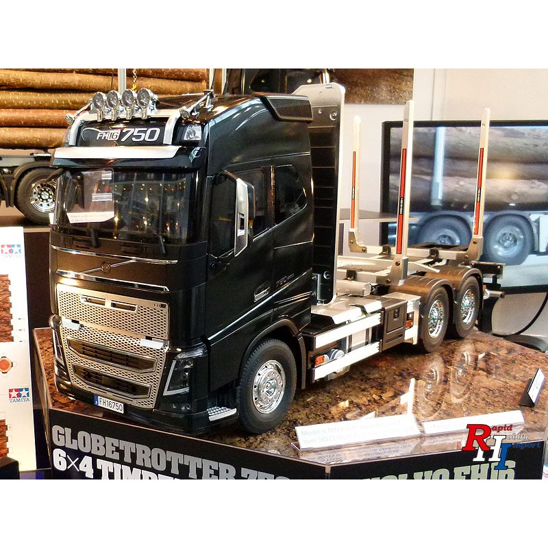 tamiya volvo fh16 globetrotter 750 6 4 timber 56360. Black Bedroom Furniture Sets. Home Design Ideas