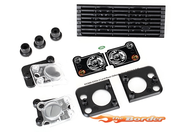 Traxxas Grill - Light Parts Land Rover Defender 8013 :: Traxxas TRX