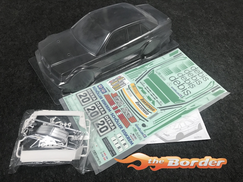 Tamiya Body Set Mercedes-Benz 190E Debis Zakspeed 58656B