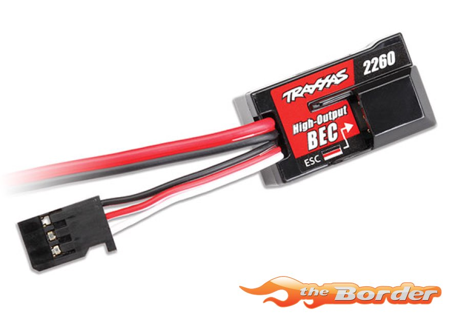 Traxxas BEC complete includes receiver box cover and seals - Z-TRX2262