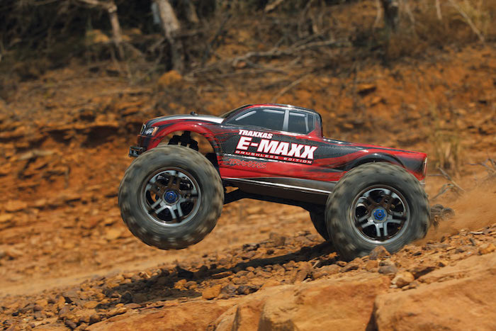 Traxxas E-Maxx iPhone Brushless w/TQi Radio and Trax Link 39087-1 ...