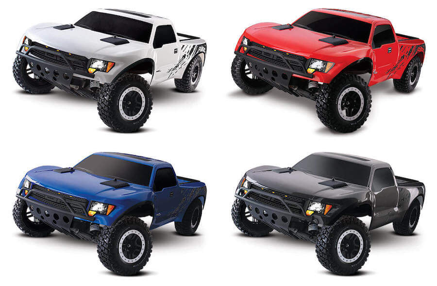 8.4V battery Traxxas Ford F-150 SVT Raptor 2WD 2.4GHz (incl.  sc 1 st  The Border : ford raptor remote control car - markmcfarlin.com