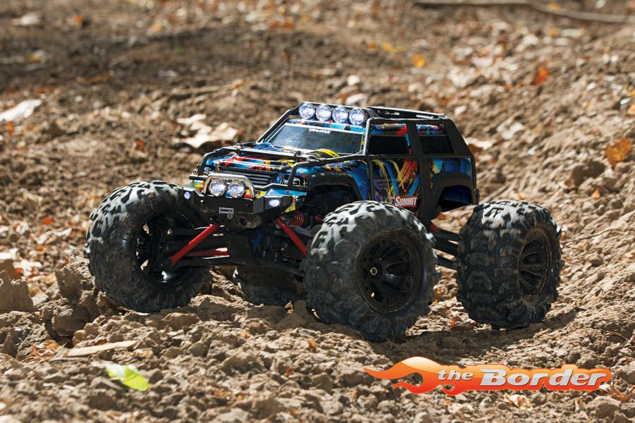 Traxxas Summit RTR Rock&Roll 2 4GHz + TSM (incl  Battery and Charger) 1/16  72054-1