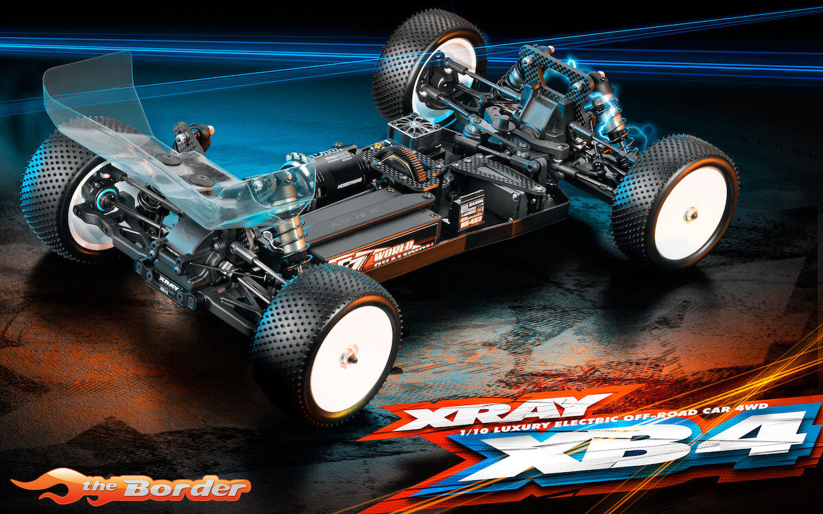 XRAY XB4 4WD - 2019 Specs - 1/10 Electric Off-Road Car 360006