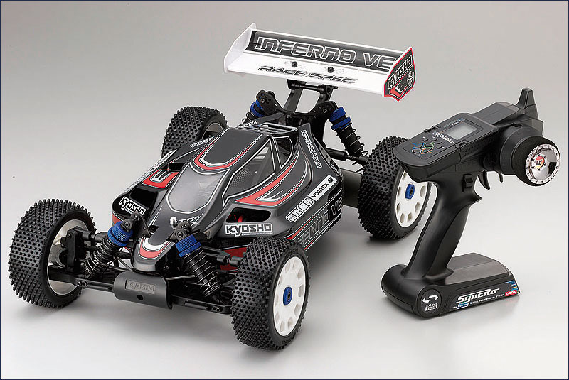 Kyosho Inferno VE ReadySet: Buggy elettrica in scala 1/8 ...