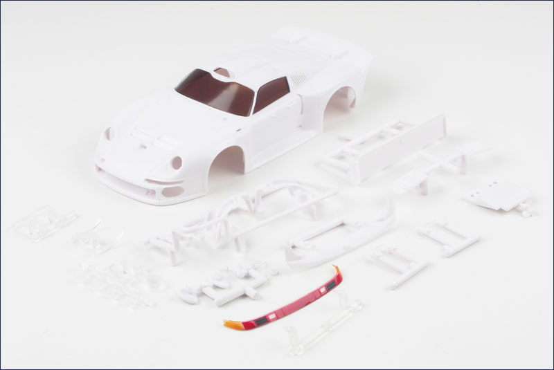 kyosho unpainted porsche 911 gt1 lm o l mzn 103 body. Black Bedroom Furniture Sets. Home Design Ideas