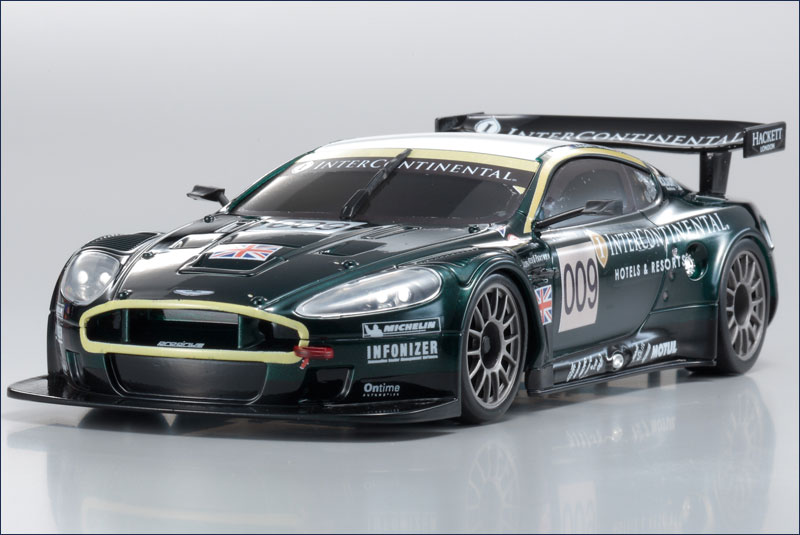 kyosho aston martin racing dbr9 no 009 le mans 2007 mzp 212 l9 body sets mm chassis body. Black Bedroom Furniture Sets. Home Design Ideas