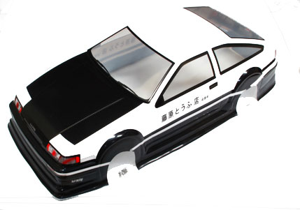 Pre-Painted Toyota 1/10 Body Set Japan edition