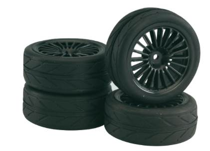 BRP Wheel /Tires Set 20-spoke glued