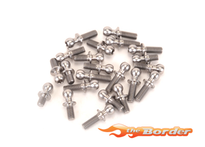 CoreRC Ti Ball Stud Set - KC  13pcs CR662