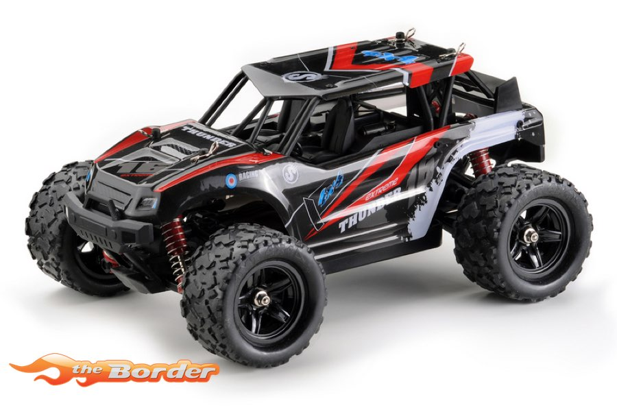 Absima 1/18 4WD High Speed Sand Buggy 2,4GHz Red 18003