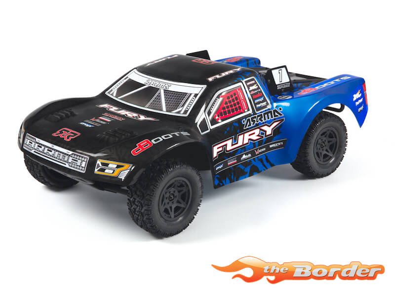 Arrma Fury 2WD Mega Brushed Short Course Truck 1/10 Blue AR102651