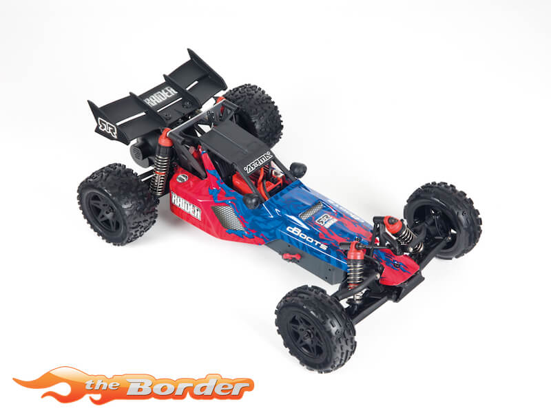 Arrma Raider 2WD Mega Brushed Buggy 1/10 Red/Black AR102656