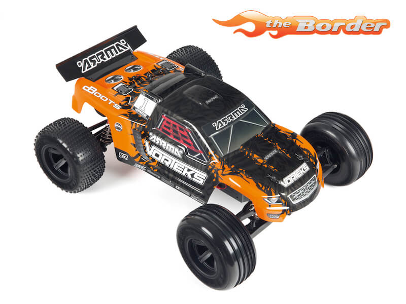 Arrma Vorteks 2WD Mega Brushed Stadium Truck 1/10 Orange AR102655