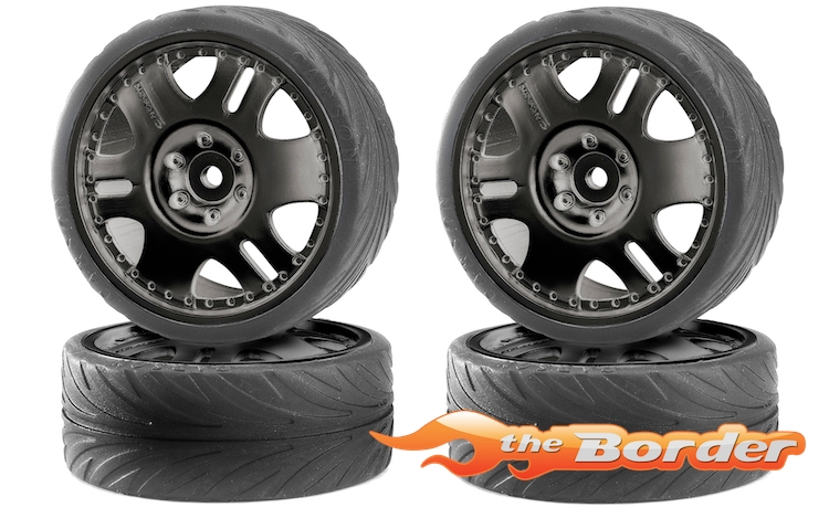 Carson Big Wheel Black Drift - 1/10 Tyres 500900025