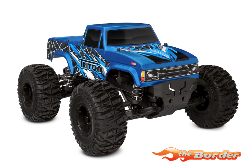 Corally Triton SP - 1/10 Monster Truck 2WD - RTR (Brushed/No Battery/No Charger) C-00250