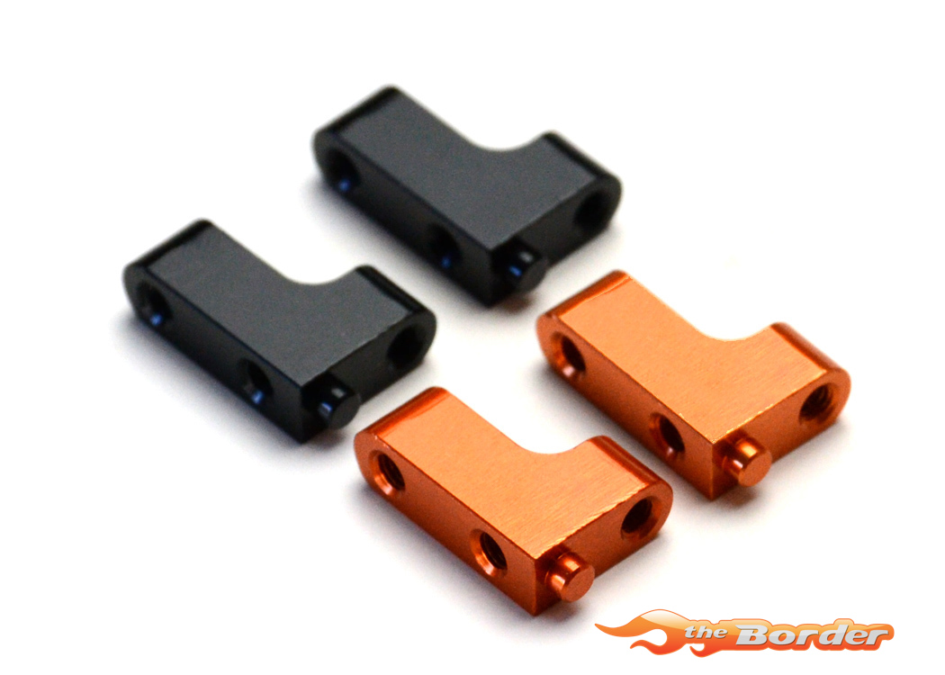 EXOTEK XRAY XB4 Aluminium Servo Mounts - Orange 1367ORG