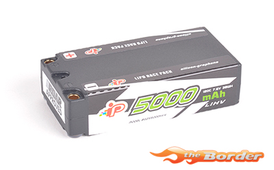 Intellect 5000mAh 2S LiHV4 Shorty Battery 7.6V 120C