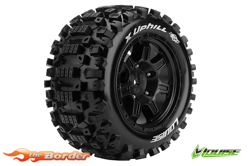 Louise RC X-Uphill Tyres for X-Maxx (2) LR-T3297B
