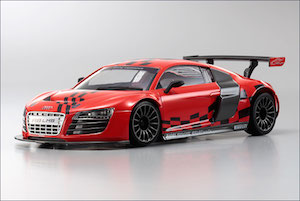 KYOSHO Body Set DWS AUDI R8 LMS RED MZP-419-SR :: Body sets :: 1 ...