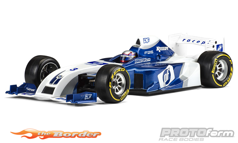 PROTOform F26 Clear Body for 1:10 Formula 1 1561-22
