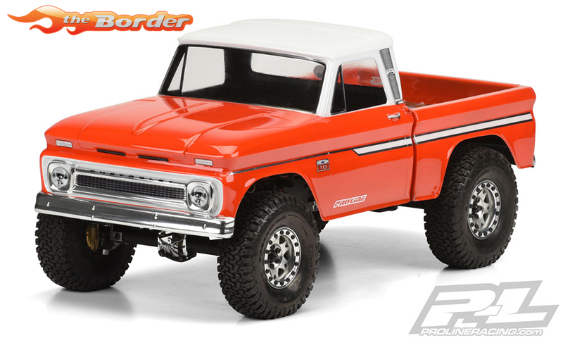 Proline 1966 Chevrolet C-10 Clear Body (Cab & Bed) for SCX10 Trail 3483-00