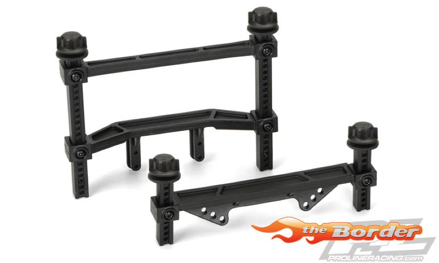 Proline Extended Front & Rear Body Mounts (Slash 2WD) PR6070-00
