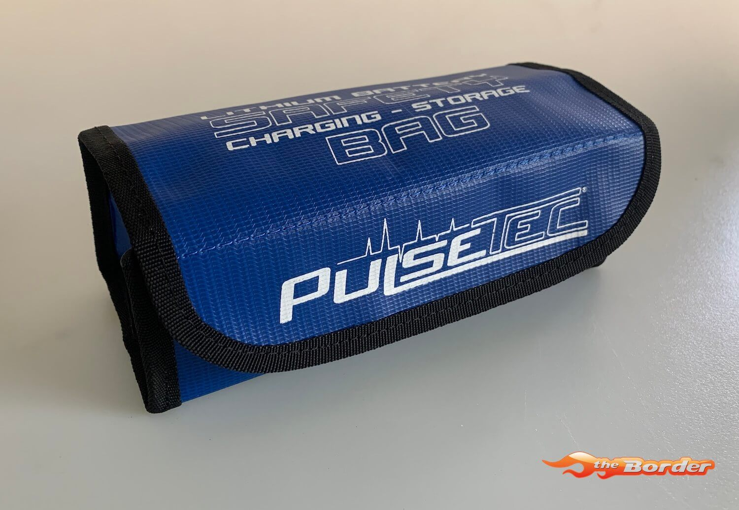 PulseTec Lithium Battery Safety Bag for Charging & Storage 19x7.5x8cm PC-010-002