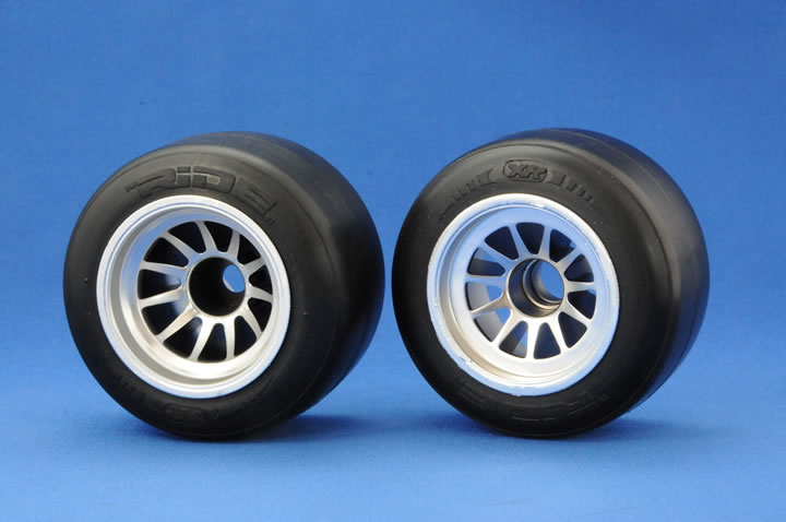 RIDE XR Formula 1 Rubber Front Tyres 26030