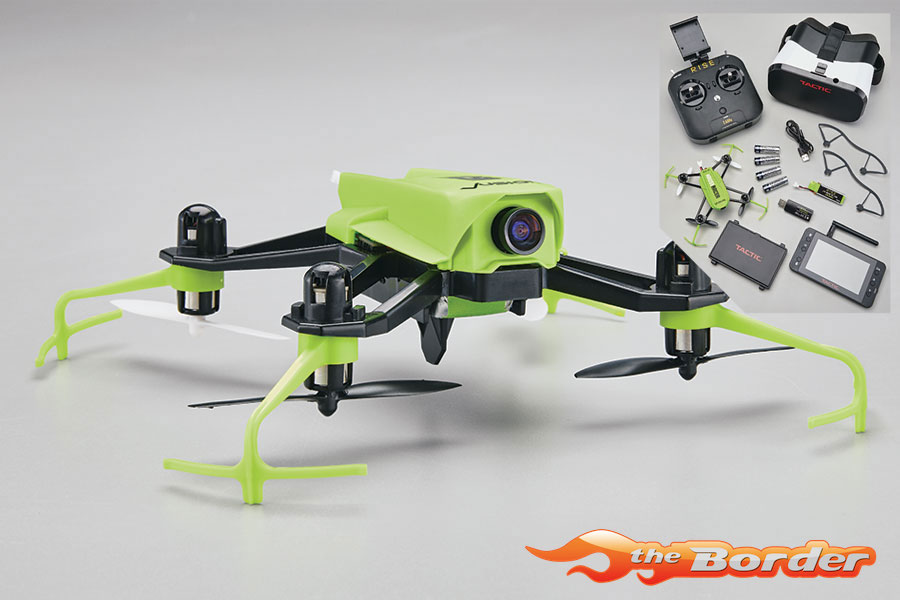 RISE Vusion Houseracer - FPV Race Drone - Complete Set RISE0207