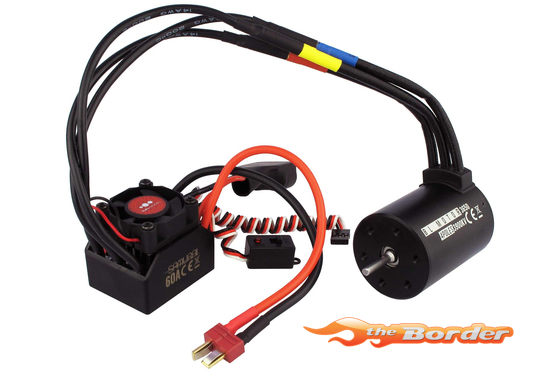SAMURAI 1/10 B4-Combo 60A 4350KV Brushless Waterproof