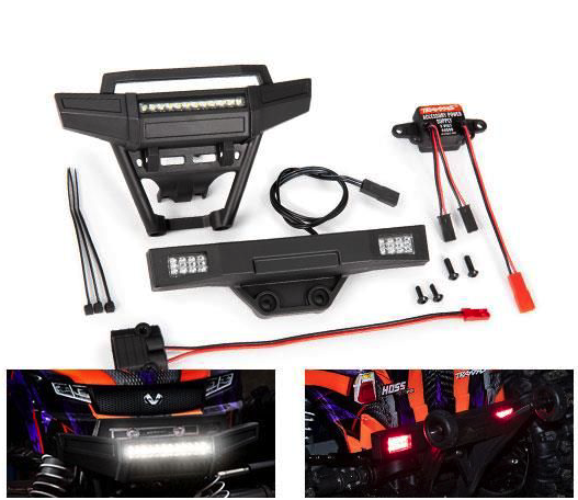 Traxxas Hoss LED Set Complete (including bumpers) 9095
