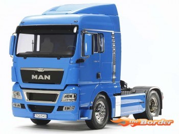 Tamiya 1:14 The MAN TGX French Blue Pre-Painted 56350