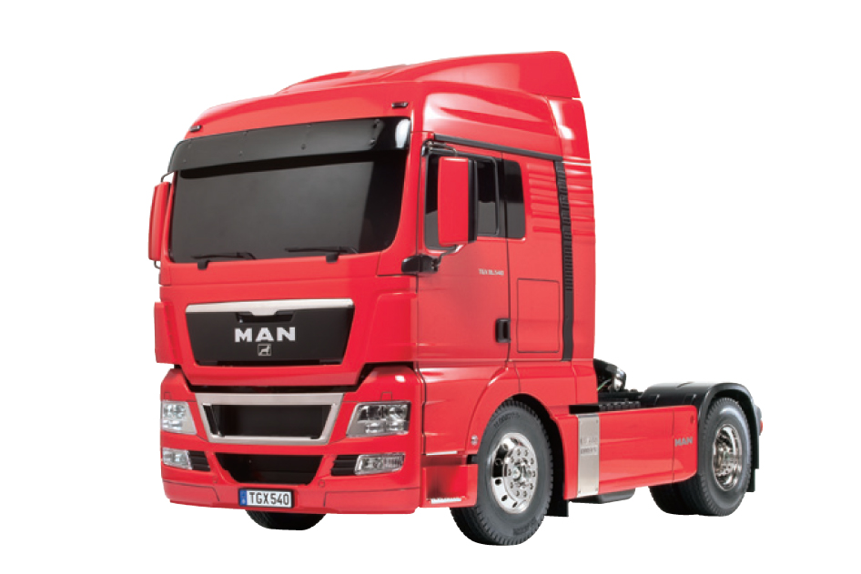 Tamiya 1:14 MAN TGX 18.540 4x2 XLX Red Edition 56332